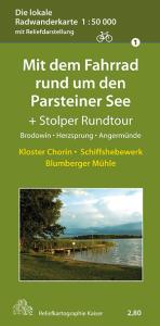 Radwanderkarte ParsteinerSee