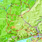 Ausschnitt Oderberg - Blick in die Karte