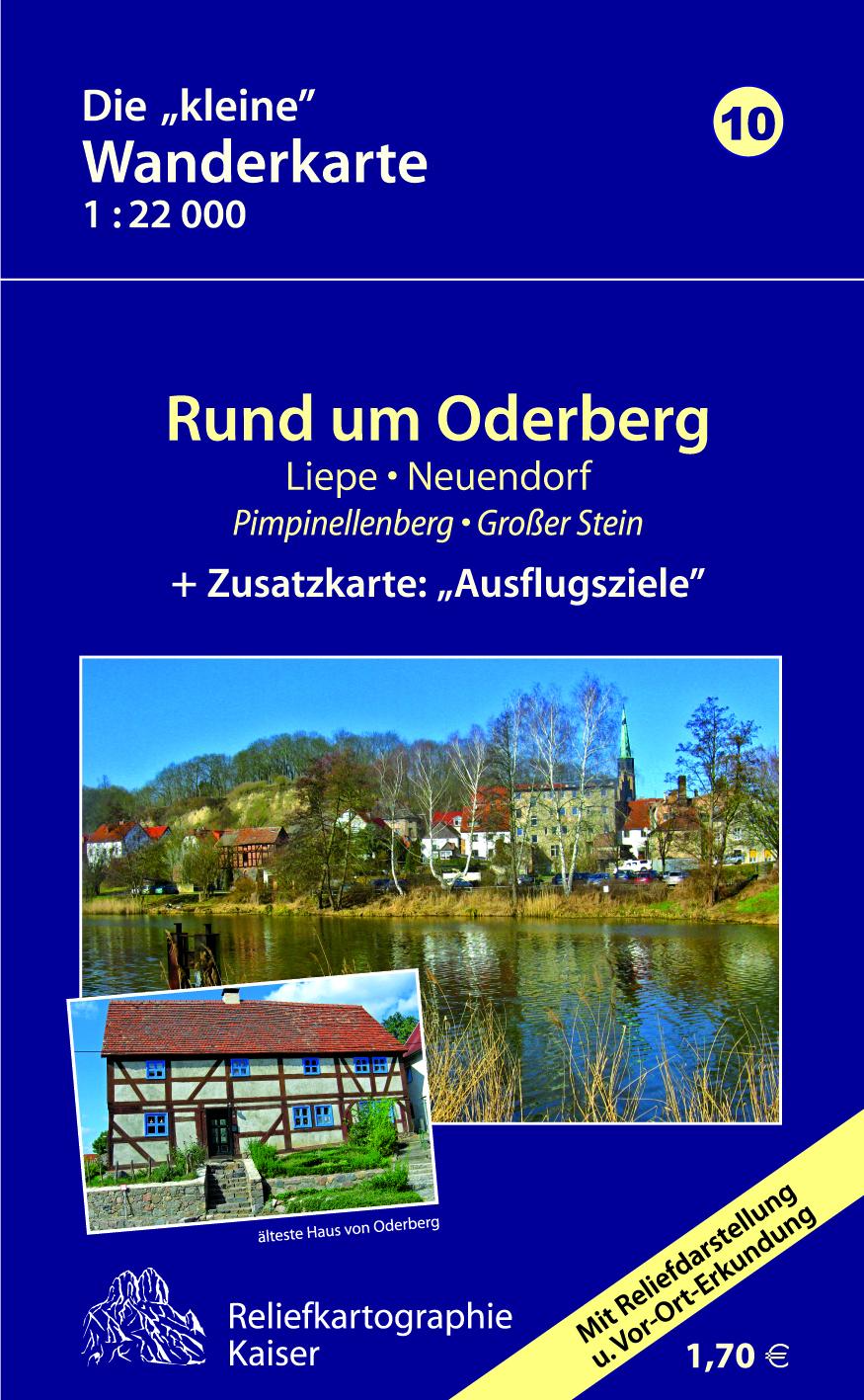 Wanderkarte Oderberg